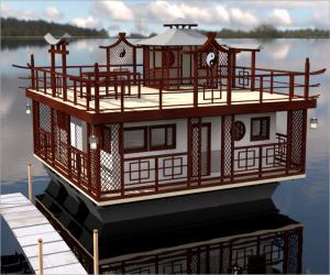 Японская плавучая дача